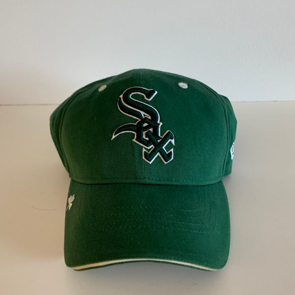New Era Chicago White Sox Green/White Strapback