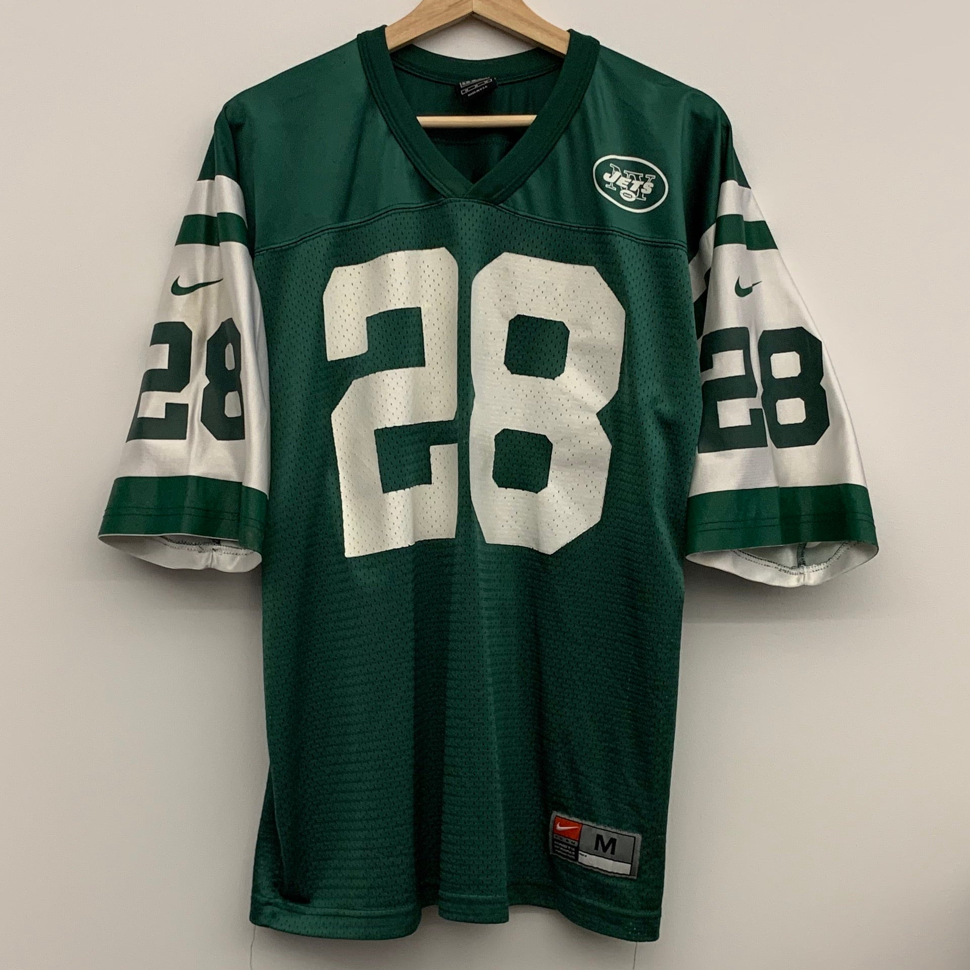Nike Curtis Martin New York Jets Green Football Jersey