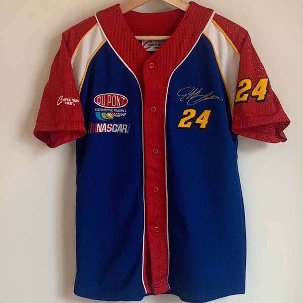 Youth Jeff Gordon Nascar Baseball Jersey