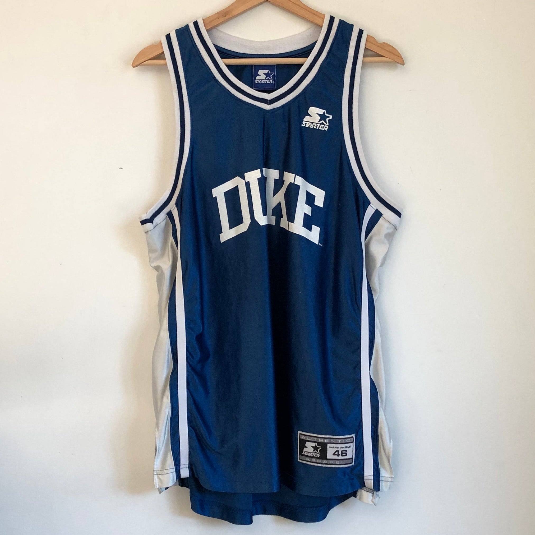 Starter Duke Blue Devils Basketball Jersey