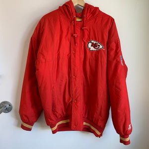 Starter Kansas City Chiefs Red Parka Jacket