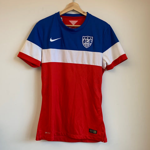 Nike USMNT Red/White/Blue Soccer Jersey
