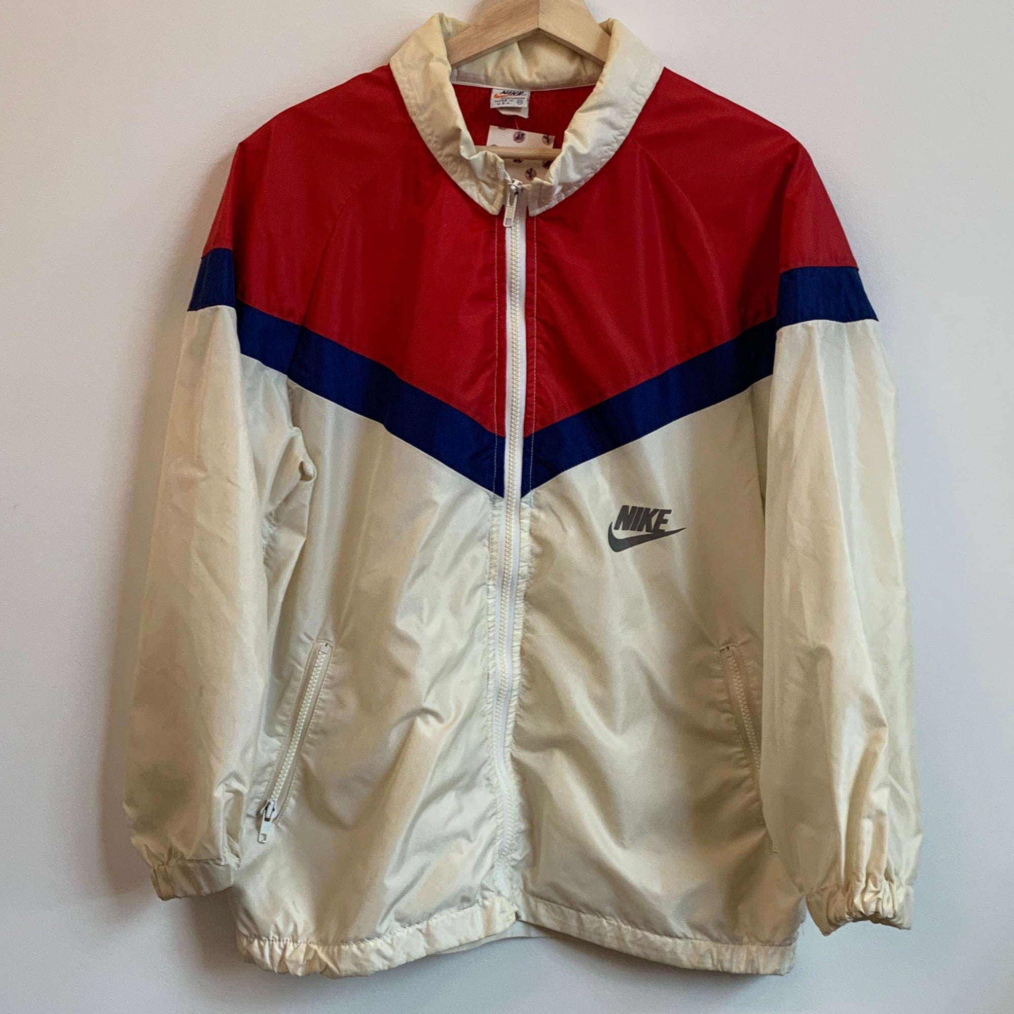 Nike Red/White/Blue Windbreaker Jacket