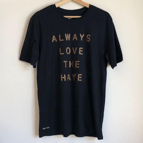 "Nike Kobe ""Always Love The Hate"" Black Tee Shirt"
