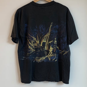 Cowboy Forest Black Tee Shirt