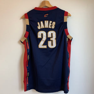 Adidas LeBron James Cleveland Cavaliers Navy Youth Swingman Basketball Jersey