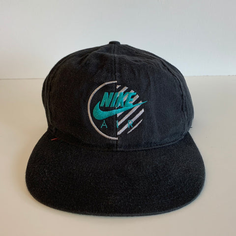 Nike Air Black & Teal Snapback