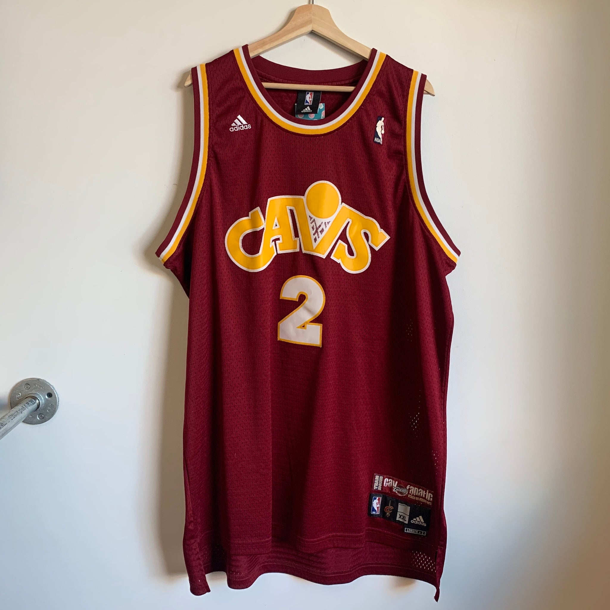Adidas Cleveland Cavaliers Mo Williams Swingman Basketball Jersey