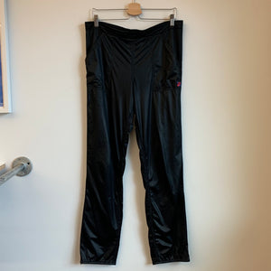 Nike Checkered Tag Black Satin Pants