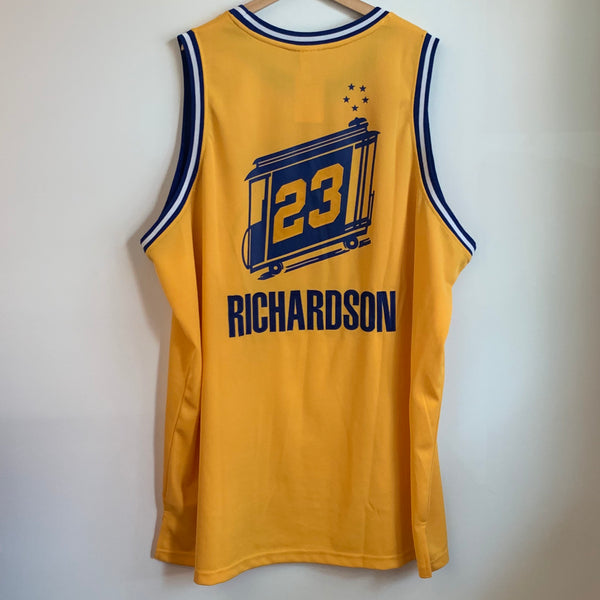 Reebok Jason Richardson Golden State Warriors Authentic Basketball Jersey