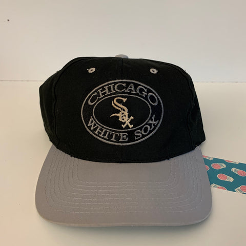 Chicago White Sox Black/Gray/White Snapback