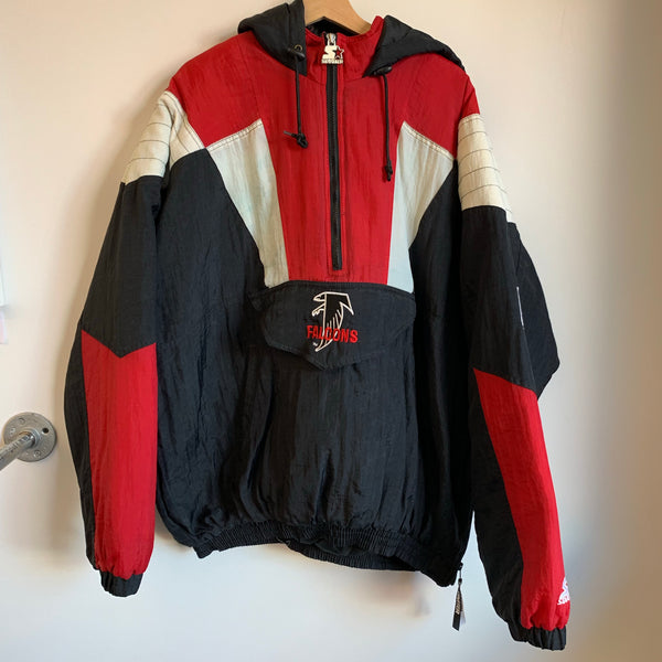 Starter Atlanta Falcons Black / Red Parka Jacket