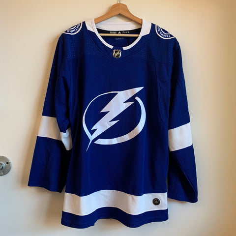 adidas Tampa Bay Lightning Authentic Hockey Jersey
