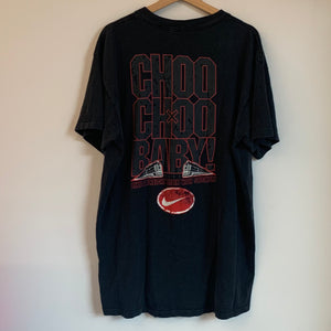 Nike Gray Tag Dennis Hopper Bad Things Man Choo Choo Baby Black Tee Shirt
