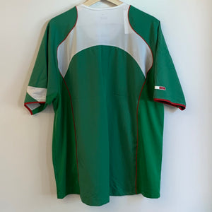 Nike Mexico 2004/05 El Tri Green Soccer Jersey