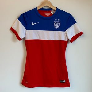 Women's Nike USA Red/White/Blue Jersey