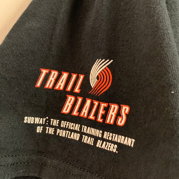Portland Trail Blazers 6th Man Black Tee