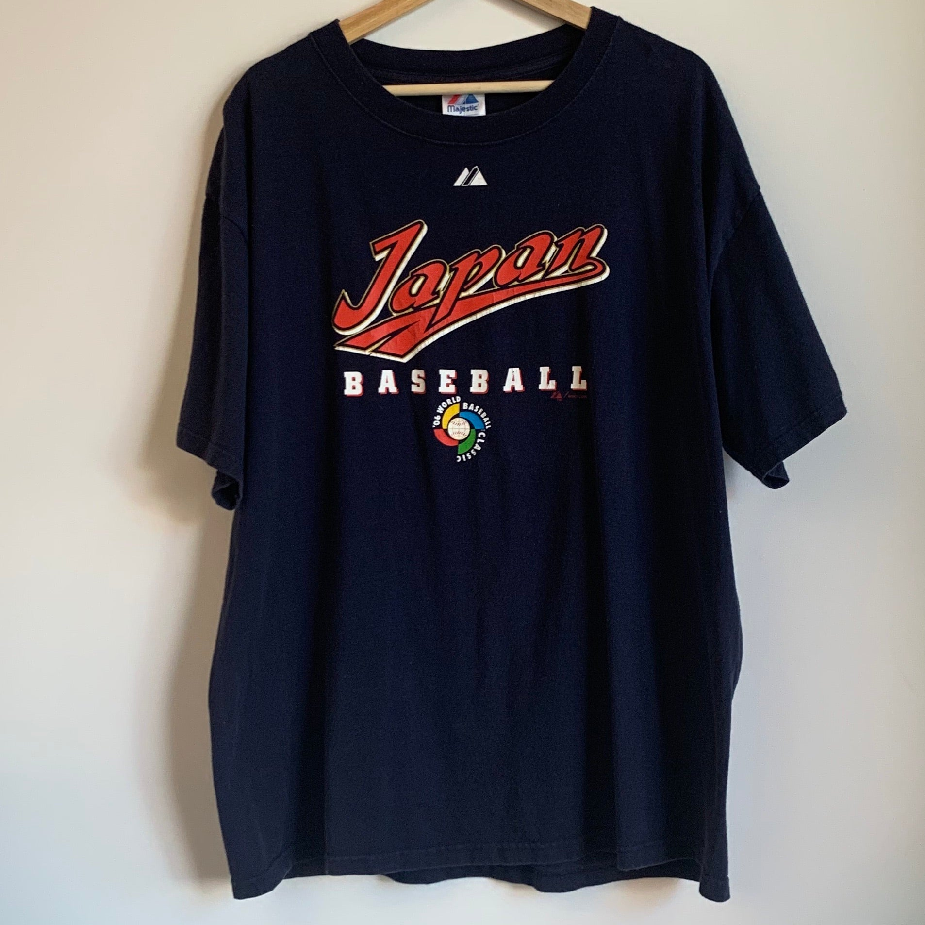 Majestic Japan 2006 World Baseball Classic Navy Tee Shirt