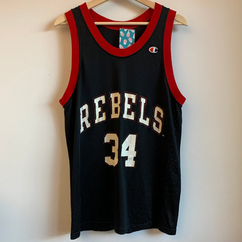 Champion J.R. Rider UNLV Runnin' Rebels Basketball Jersey