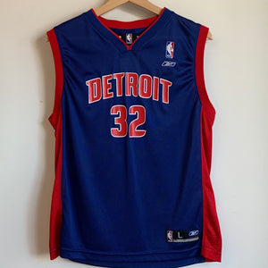 Detroit Pistons Rip Hamilton Youth Basketball Jersey