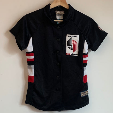 Hardwood Classics Portland Trail Blazers Youth Warmup Jacket