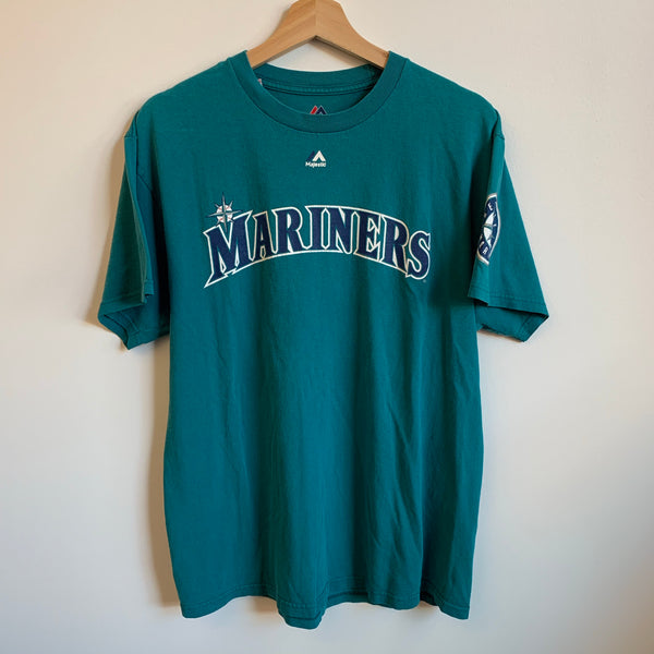Majestic Robinson Canó Seattle Mariners Teal Tee Shirt