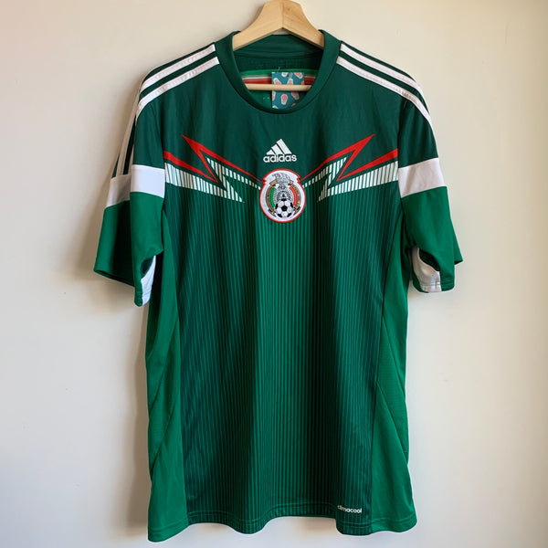 adidas Mexico 2013/14 Home Soccer Jersey