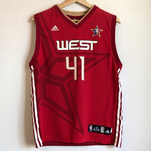 adidas Dirk Nowitzki 2010 All-Star Game Youth Basketball Jersey