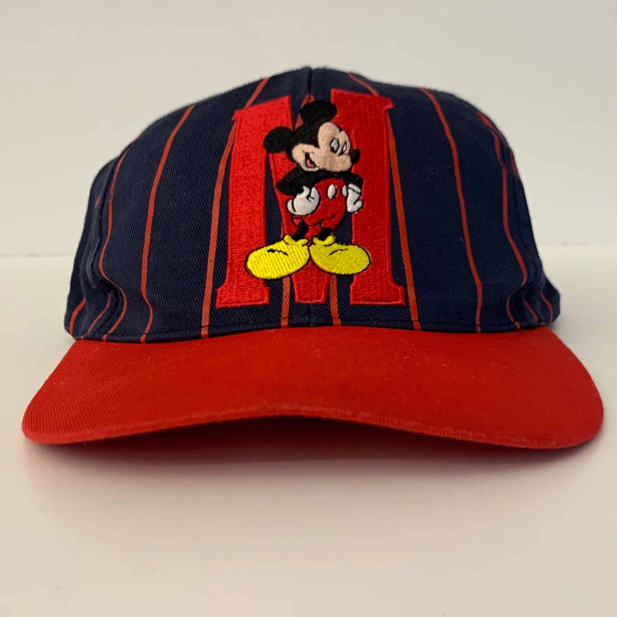 Disney Mickey Blue Pinstriped SnapBack