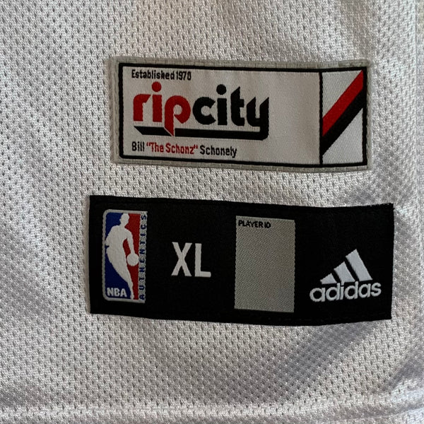 Adidas Martell Webster Portland Trail Blazers White Jersey