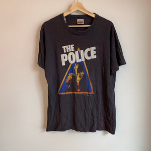 1981 The Police Black Tee Shirt