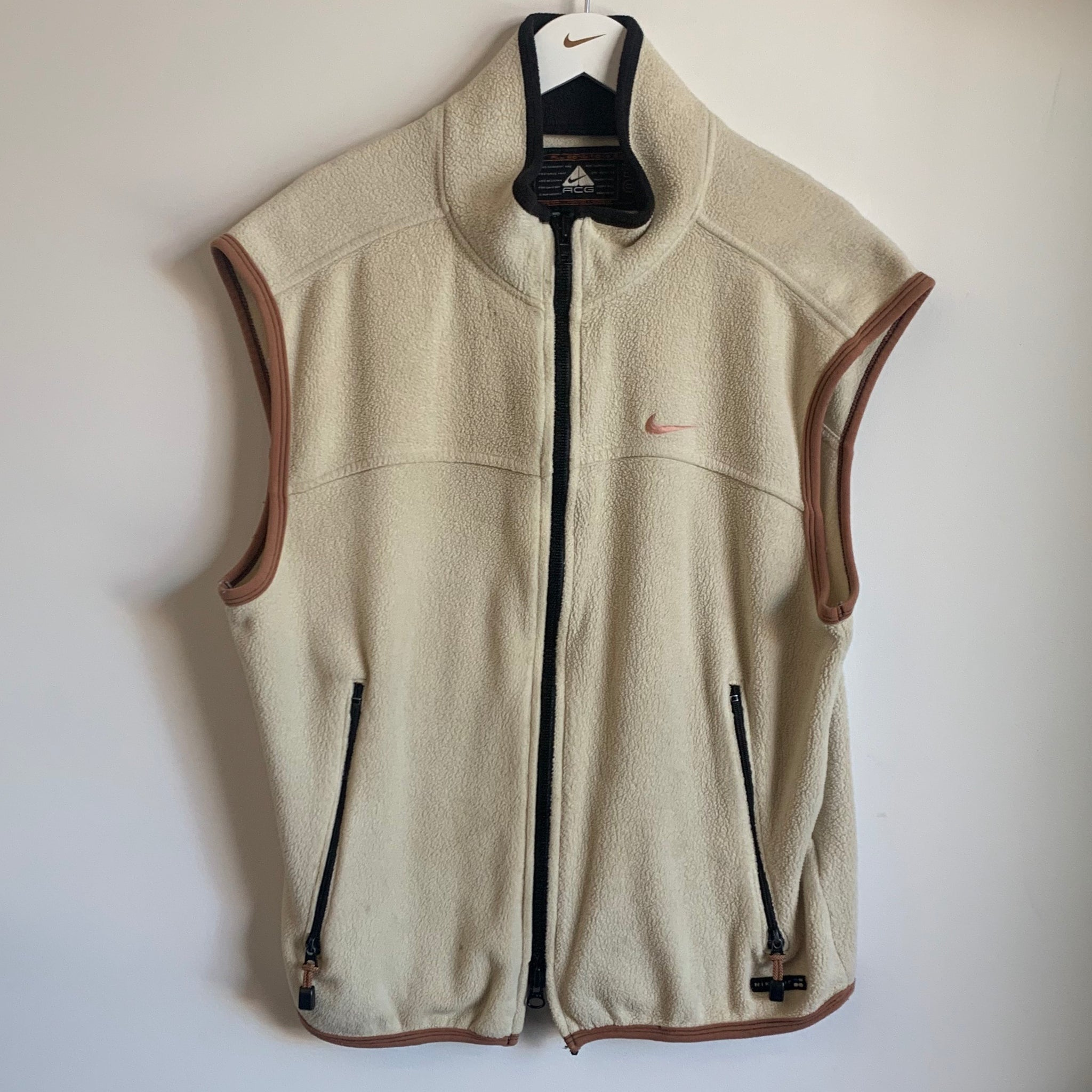Nike ACG Tan Fleece Vest