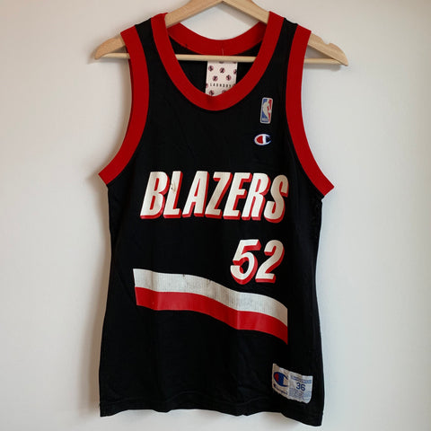 Champion Buck Williams Portland Trail Blazers Black Basketball Jersey