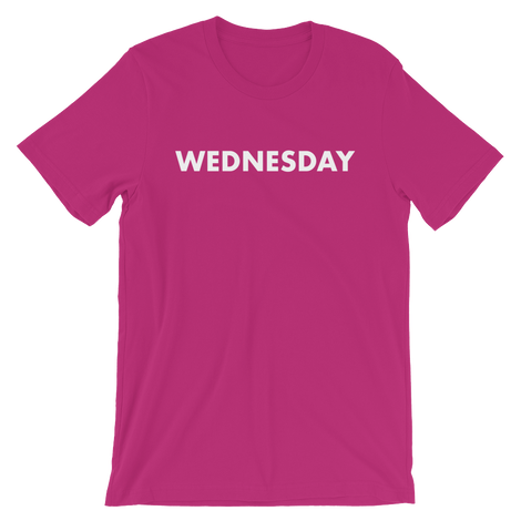 TEES FOR WEDNESDAYS
