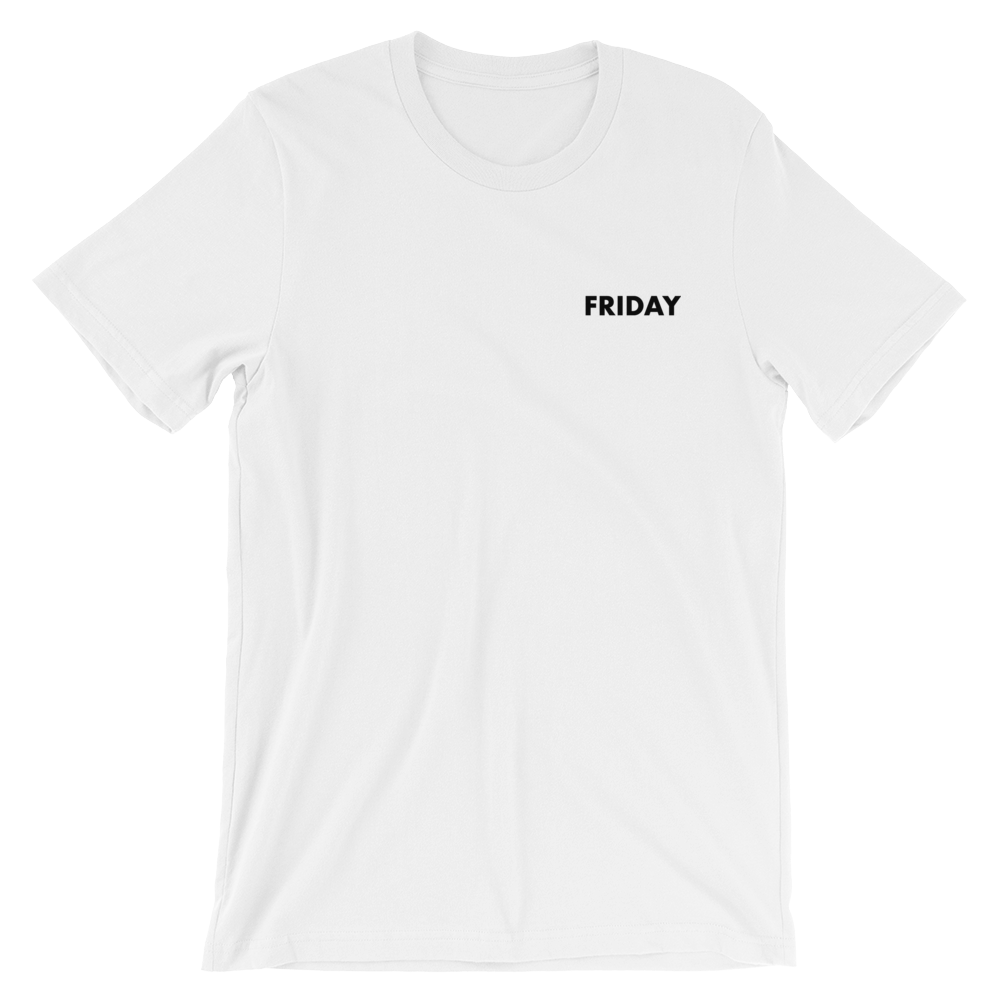 Friday Tee - small print