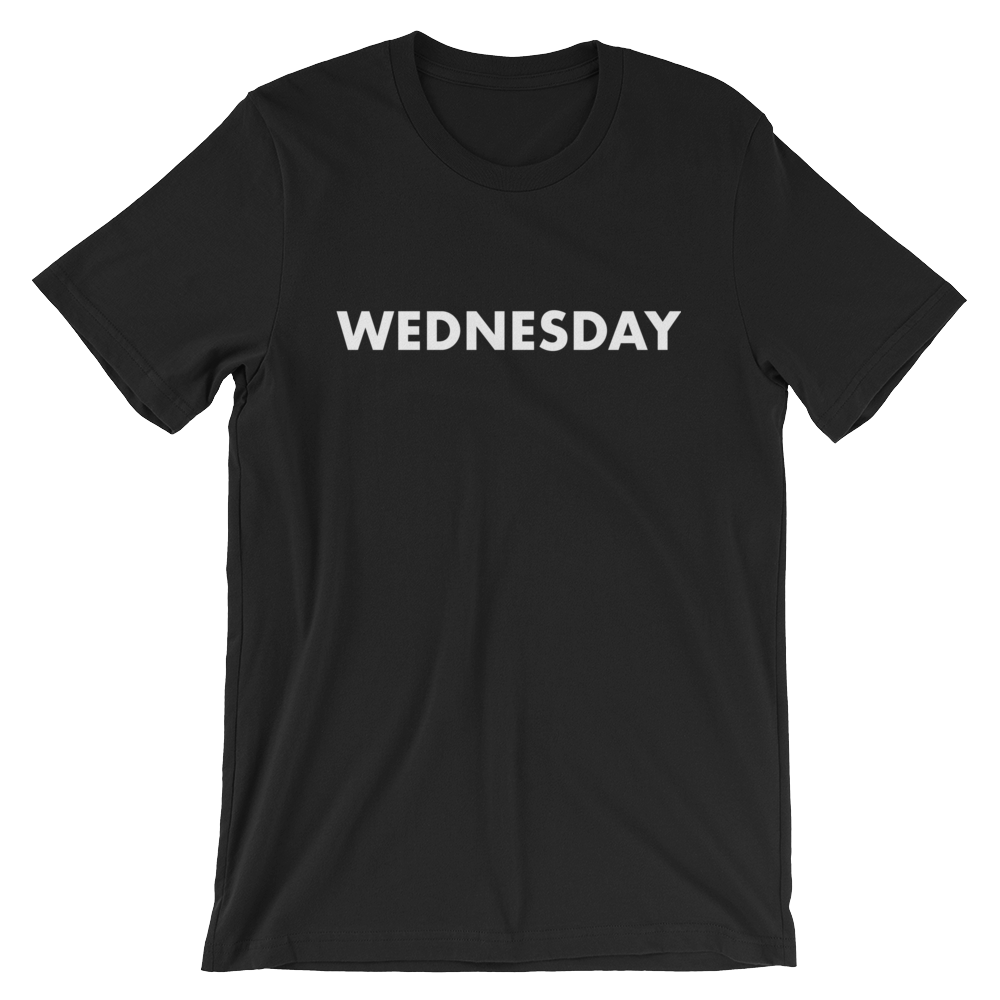 Wednesday Tee - large print