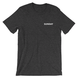 Sunday Tee - small print