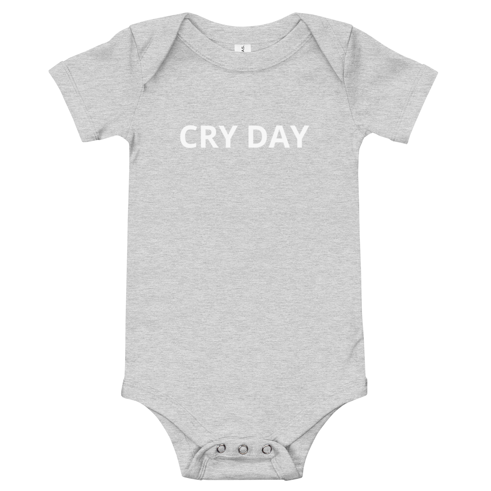 Cry Day Onesie