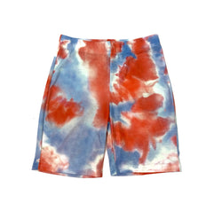 Tie-dye bike shorts