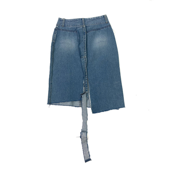 U3 remake denim skirt