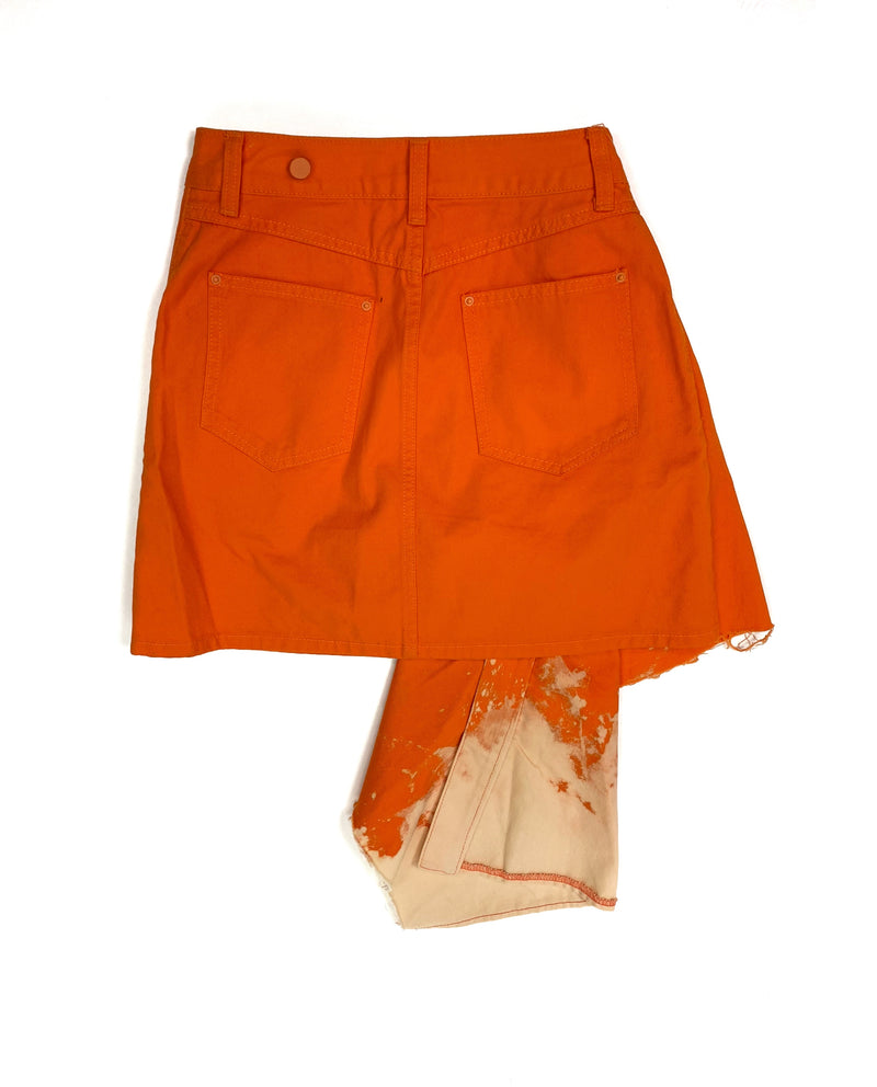 Remake orange skirt