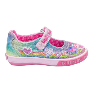 Lelli Kelly Hearts RB B D Multi Glitter