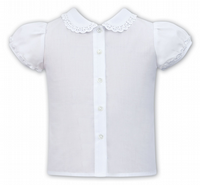Sarah Louise 011598 White Blouse SS20