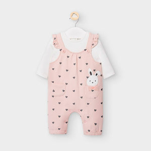 Mayoral 2644 074 Pink Rompers AW20