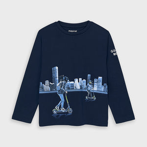 Mayoral 4049 061 Long Sleeve T-Shirt AW20
