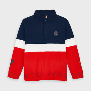 Mayoral 4129 074 Long Sleeve Polo AW20