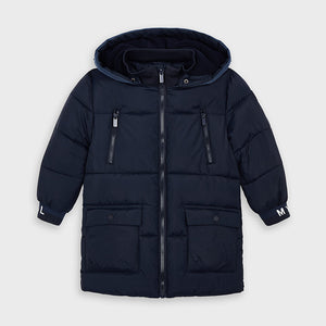Mayoral 4479 065 Navy Long Padded Jacket AW20
