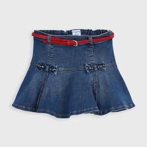 Mayoral 4956 069 Denim Skirt AW20