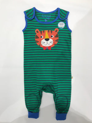 Frugi Striped Tiger Dungaree