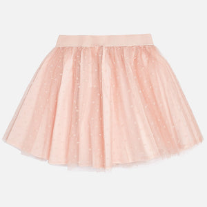 Mayoral 4902 041 Nude Tulle Skirt